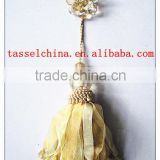 High quality plastic butterfly decorative clip, tieback tassel for curtain