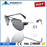 Brand Classic men gradient aviator sunglasses 3025 logo frog metal sunglasses 2016                                                                         Quality Choice