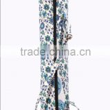 RTVYB-003 Canvas Flowers Printed vintage Yoga Mats For Unisex