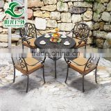 Metal Aluminium Outdoor Furniture Party Table And Chairs For Sale                                                                         Quality Choice