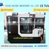 VMC 850B large cnc vertical machining center for hot sale with taiwan spindle and linear guide