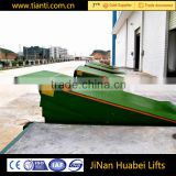 China supplier heavy duty stationary hydraulic edge dock leveler for truck