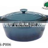 6.5L cast iron enamel casserole cookware set