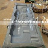 professional manufacturer/maker high precision extrusion plastic road barrier blowing mould