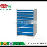 TJG CHINA Hardware Tool Ark Mechanics Net Type TJG-Z10071A Double Open The Door With Enclosed Metal Toolbox Drawer