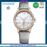 FS FLOWER - High Quality Watch MOP Dial Stainless Steel Case Custom Quartz Watches Japan Movt
