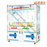 Wholesale tokens hot sale double crane coin operated claw crane vending machines for sale