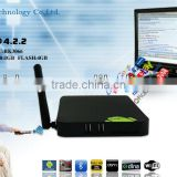 internet tv set top box mini pc full hd media player ip tv box android Dual-Core processor rk3066 android os4.2