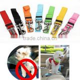 Adjustable Pet Cat Dog Car Vehicle Safety Seat Belt / dog car Harness Lead / pet safety belt