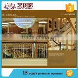 Shijiazhuang Factory supply lowes wrought iron railings, stair baluster, metal balustrade on alibaba.com