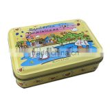 High quality lip balm container, lip balm tin container