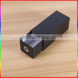 high level matte black cardboard sliding drawer style paper packaging box