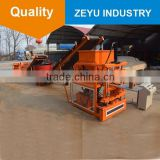 ZY2-10 automatic clay hollow bricks machine Eco Brava paving brick molding machine soil interlocking brick making machine