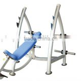 GNS-8202 Incline Olympic Bench Body Building Sporting commercial gym health fitness equipment