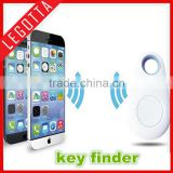 China supplies anti-lost wireless tracking keychain finder electronic rifd key finder bluetooth technology