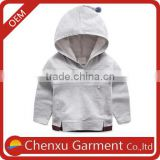 100% cotton kiids hoodie custom girls kids winter jacket wholesale children's boutique clothing fleece jackets bulk