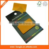 Promotional dialog box-shaped neon and colorful sticky note pads multifunctional self-adhensive memo pads