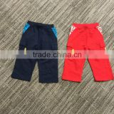 Wholesale custom children boys thick terry fleece warm winter casual pants