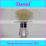 Goat hair Kabuki brush,Plastic base refillable body powder brush ,Large foundation brush