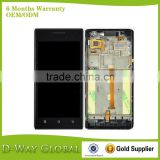 China cell phone spare parts for huawei P1 U9200/T9200 LCD with touch screen,LCD complete for huawei P1 LCD