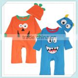 Foreign trade of the original single original single 2 piece children's clothing suit baby Romper baby coveralls suit