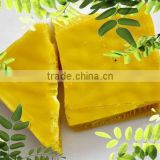 Grade two Refined yellow beeswax/bee products for cosmetic