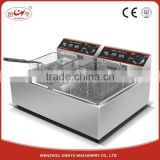 Chuangyu Alibaba Online Business For Sale 5Kw Commercial Double Tank Tornado Potato Deep Fryer For Chicken Fryer