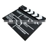 luxury custom logo wooden movie director cutting board on sale