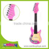 Wholesale kids musical instruments toy 6 string bass guitar kit