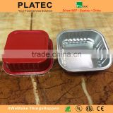 disposable and colored aluminium foil round trays and container