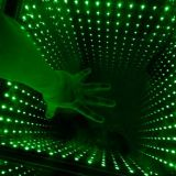 Time Tunnel 3D Effect Decoration Wedding LED Lighted Glass Mirror Dance Floor with WiFi Mobile Phone
