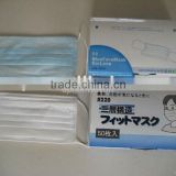Disposable face mask, surgical face mask, nonwoven mask with Ear loop CE ISO Certification