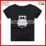 Lovely animal printing child t-shirt baby shirt baby girls fancy t shirt