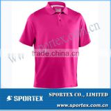 Pink Color Mens Euro Performance Short Sleeve Man T-Shirt MZ0167