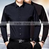 High quality professional shirt factory OEM Non-iron wrinkle free cotton business men dress shirts for men