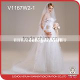 V1167W2-1 The new 2016 long wedding veil
