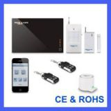 2014 hotest cheap smart Wireless GSM Home Security Alarm System With Iphone/Android App control