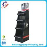 Flooring cardboard display for shampoo promotional sale