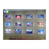Photo Frame Crystal LED Light Box Estate Agent Window Display Units Illuminated