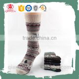 Bulk wholesale custom winter logo sport compression running socks
