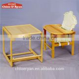 Top quality wooden baby feeding high chair for babies wholesale