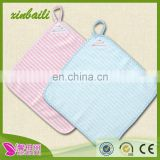 China factory wholesale 33 * 33 untwisted yarn cotton children hand towel