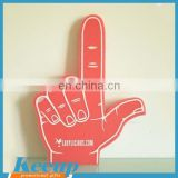 2015 New Product Branded Logo Cheer Foam Hand for Giveaways