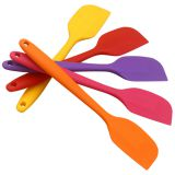 Free Sample Food Grade Nontoxic Silicone Scraper Kitchen Utensil Cooking Tool