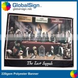 Polyester Material and Hanging Style christian banners