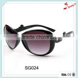 2016 china promotion brand sunglass manufacturers with white Diamond on spectacle frame