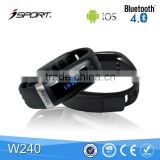 New Arrival Bluetooth Wristband Step Counter
