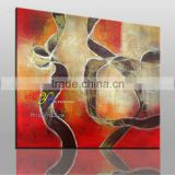 Original oil paintings with oil or acrylic for home decor-the strap -canvas oil painting