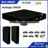 Amlogic S905 Chip 4K Kodi Full Loaded HD Smart Media Player TV Box 2GB DDR Mini M8S II Android 6.0 Marshmallow TV Box