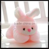plush bunny rabbit toy with pink color soft toy